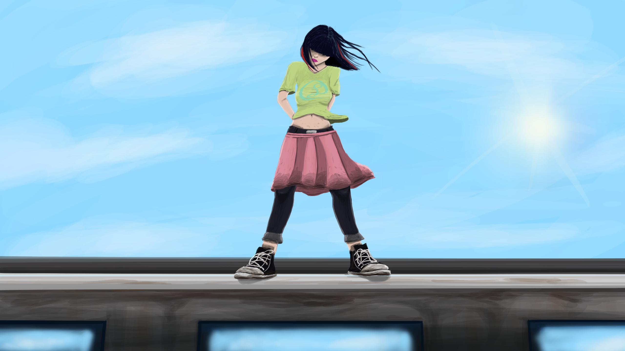 Rooftop Girl