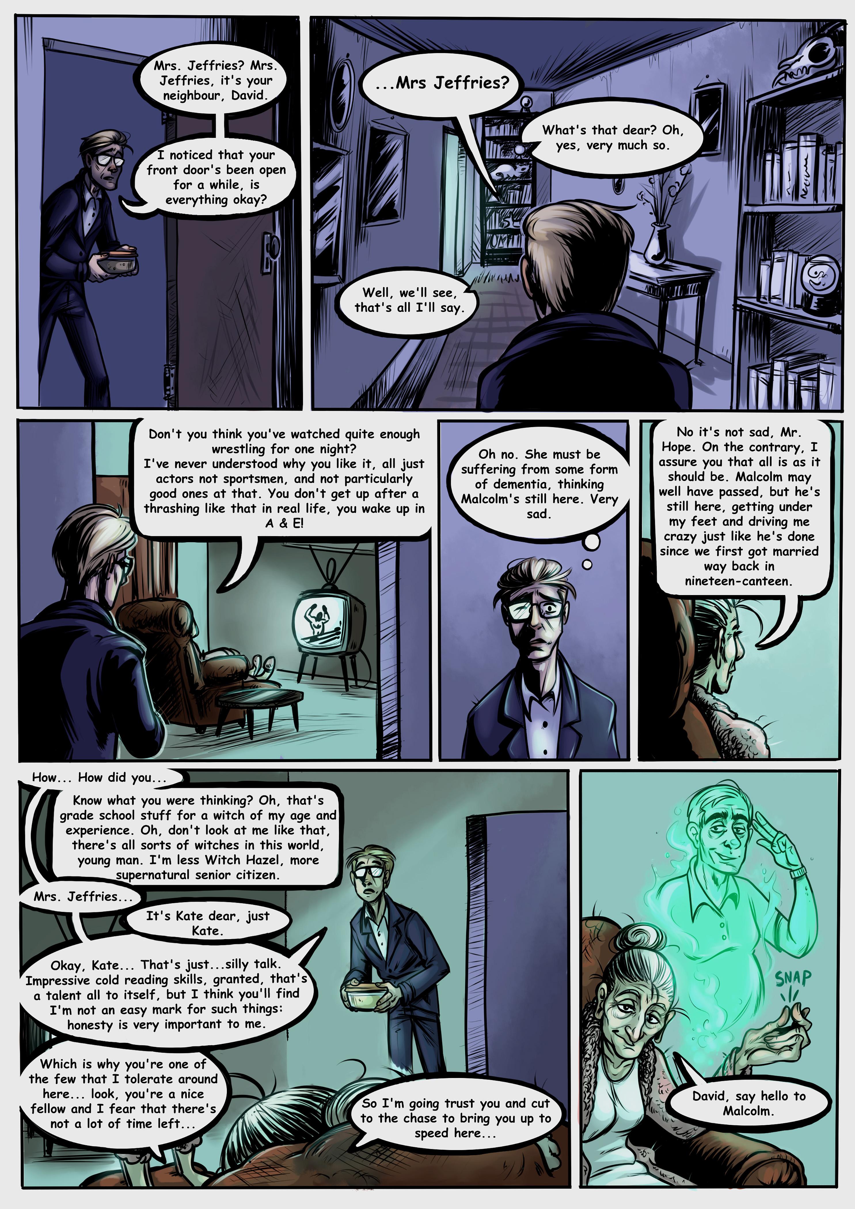 Saturday Night Seance Page 3