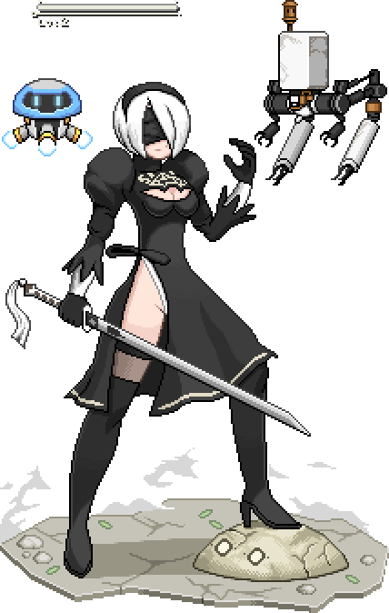 02-2B from Nier Automata