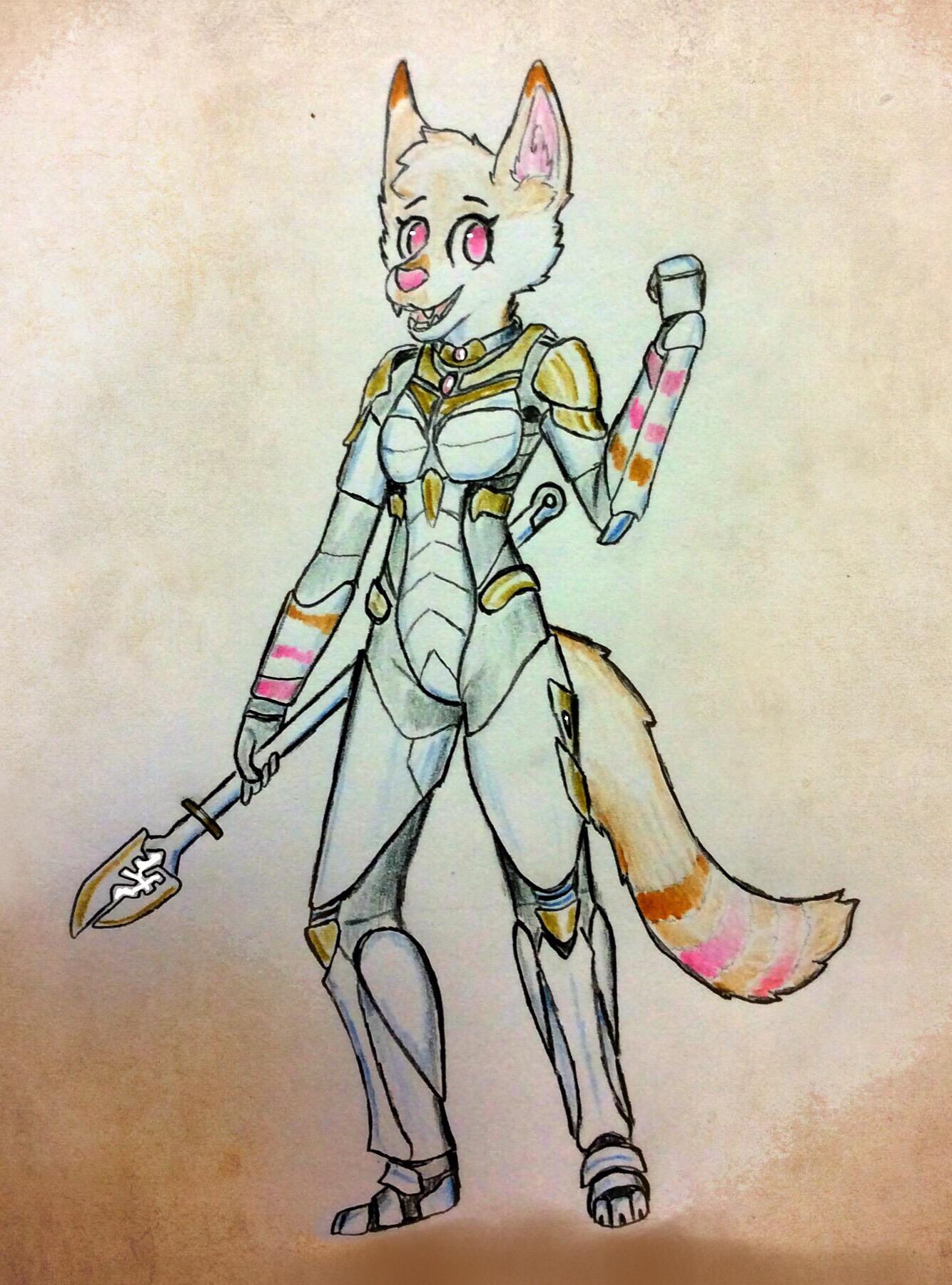 Phobee's scifi armor