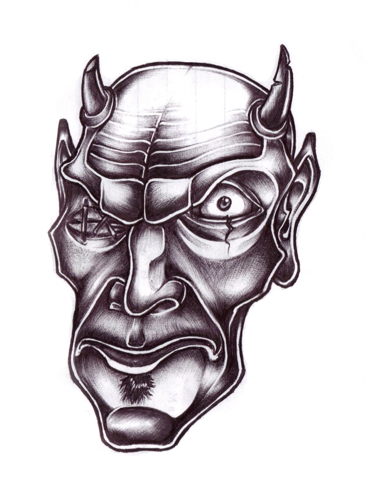Stitched-eye Demon