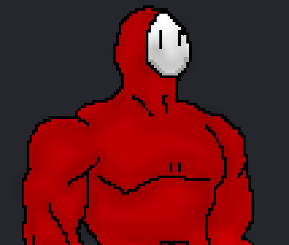 Pixel ShyGuy