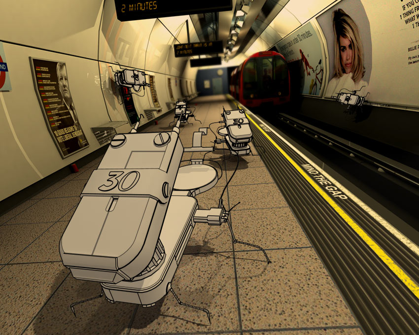 The tube robots