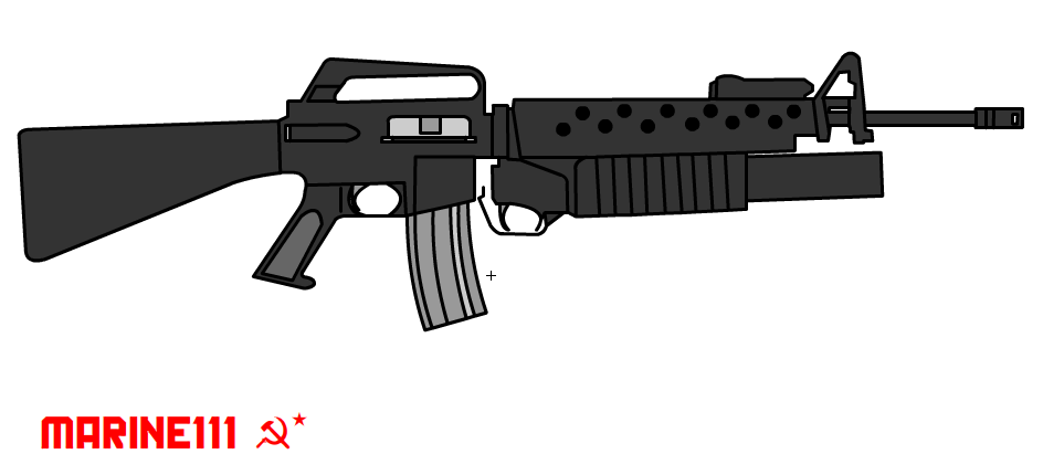 M16A1 With Grenade Launcher