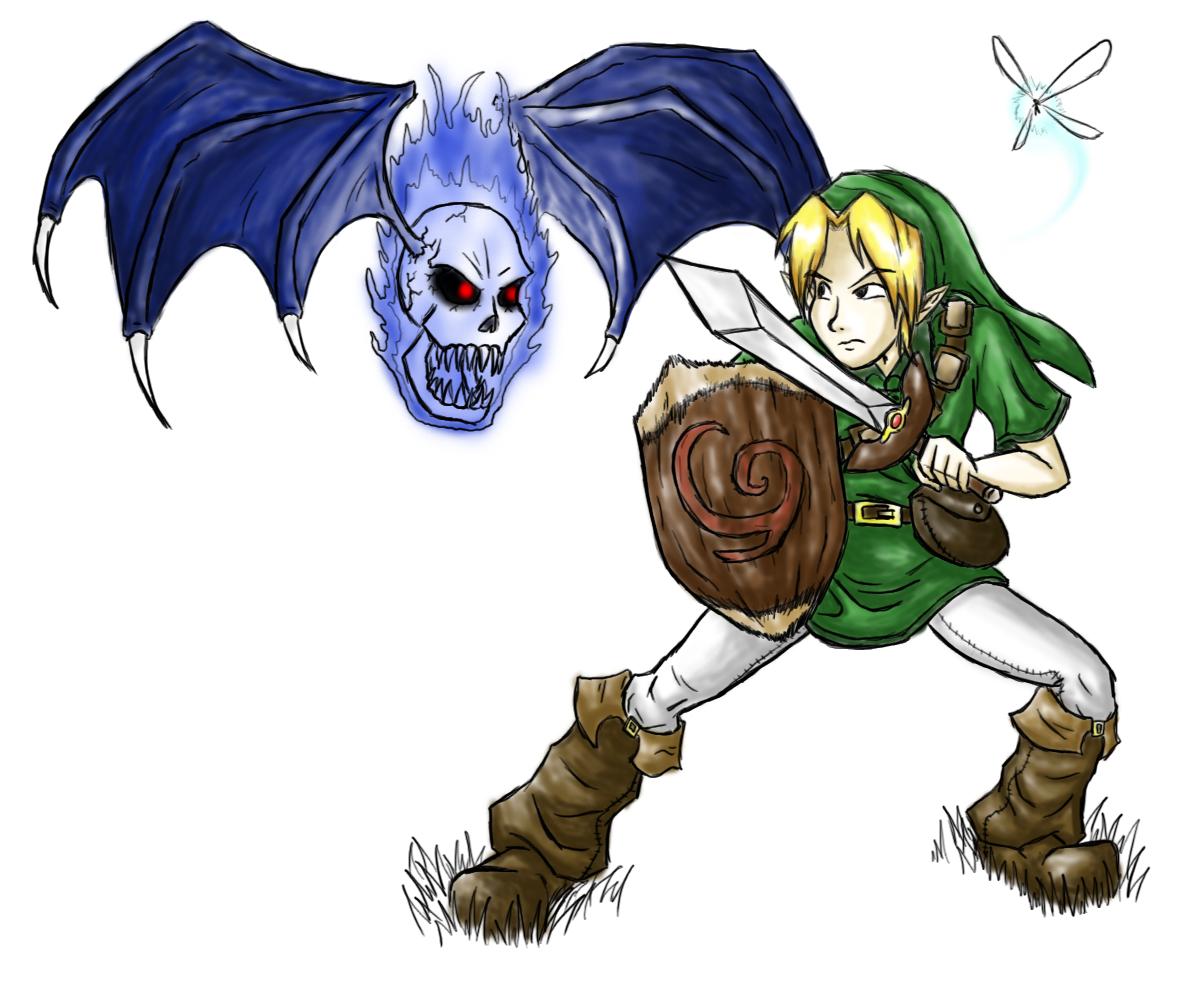 Link vs. Blue Bubble