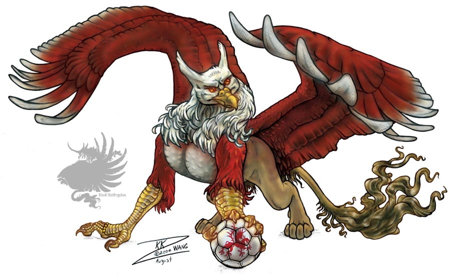 Soccer Gryphon 1 of 3