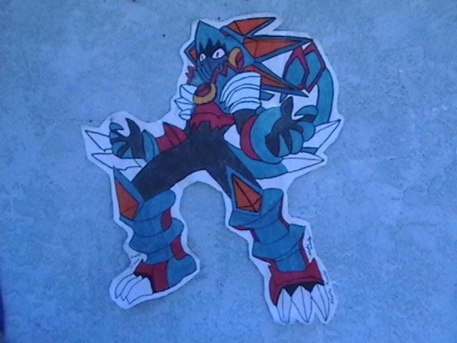MegaMan Beast Out Gregar