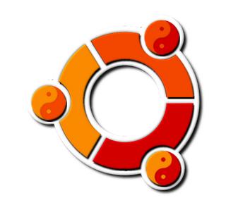[photoshop] ubuntu logo