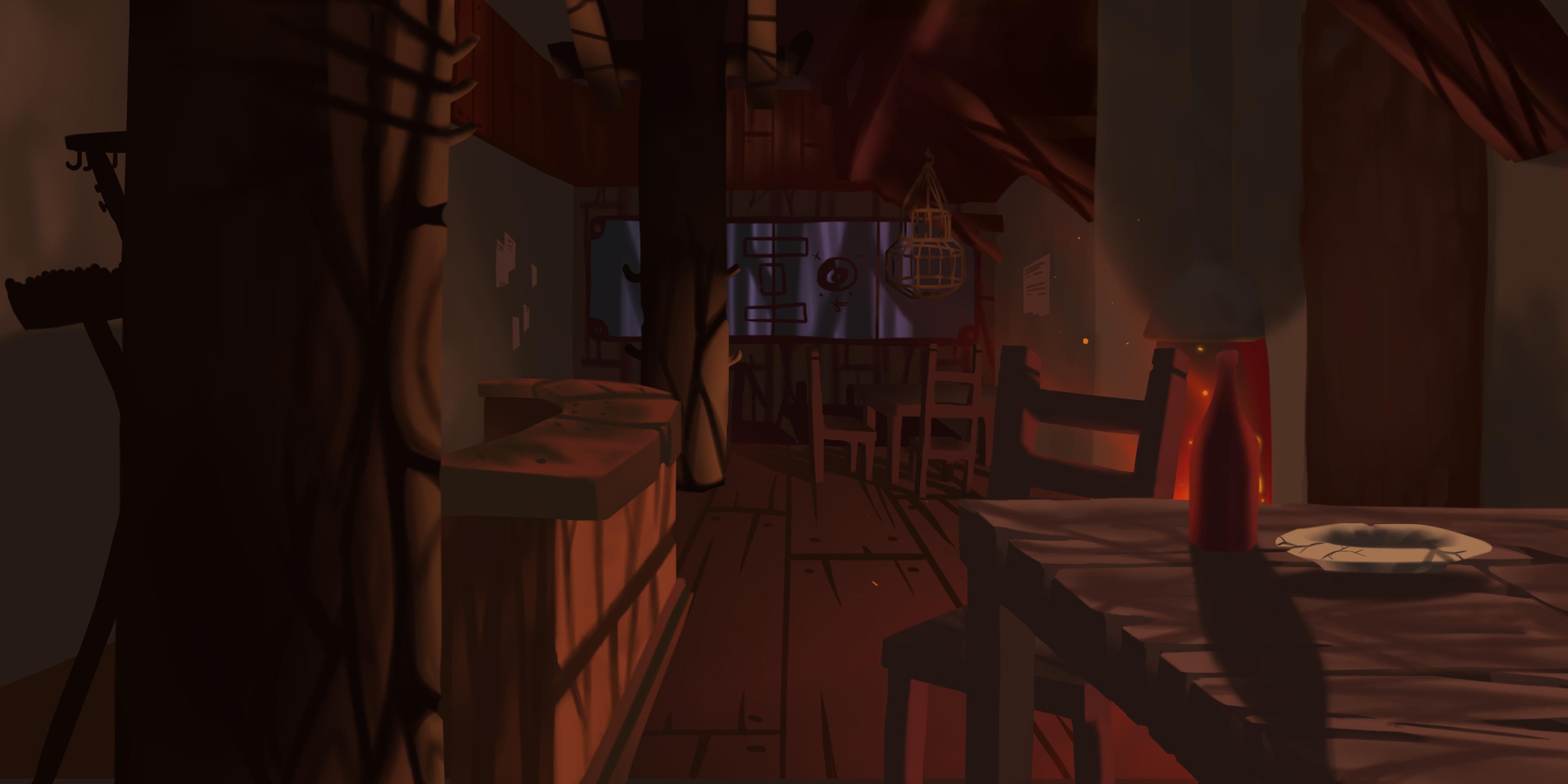 Samurai Jack's tavern