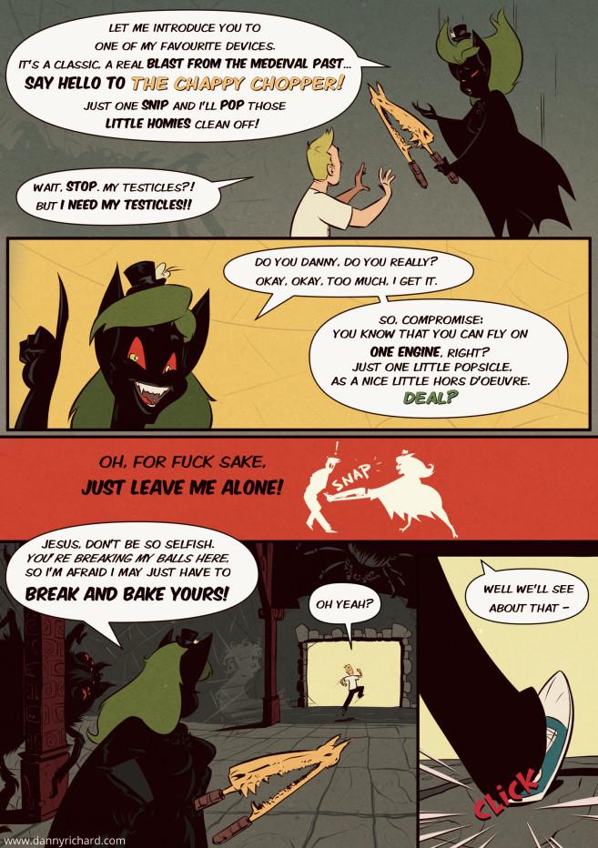 Adrenaline Shots Webcomic Page Three