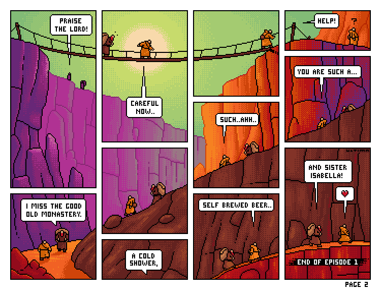 The Wayfaring Monks Page2