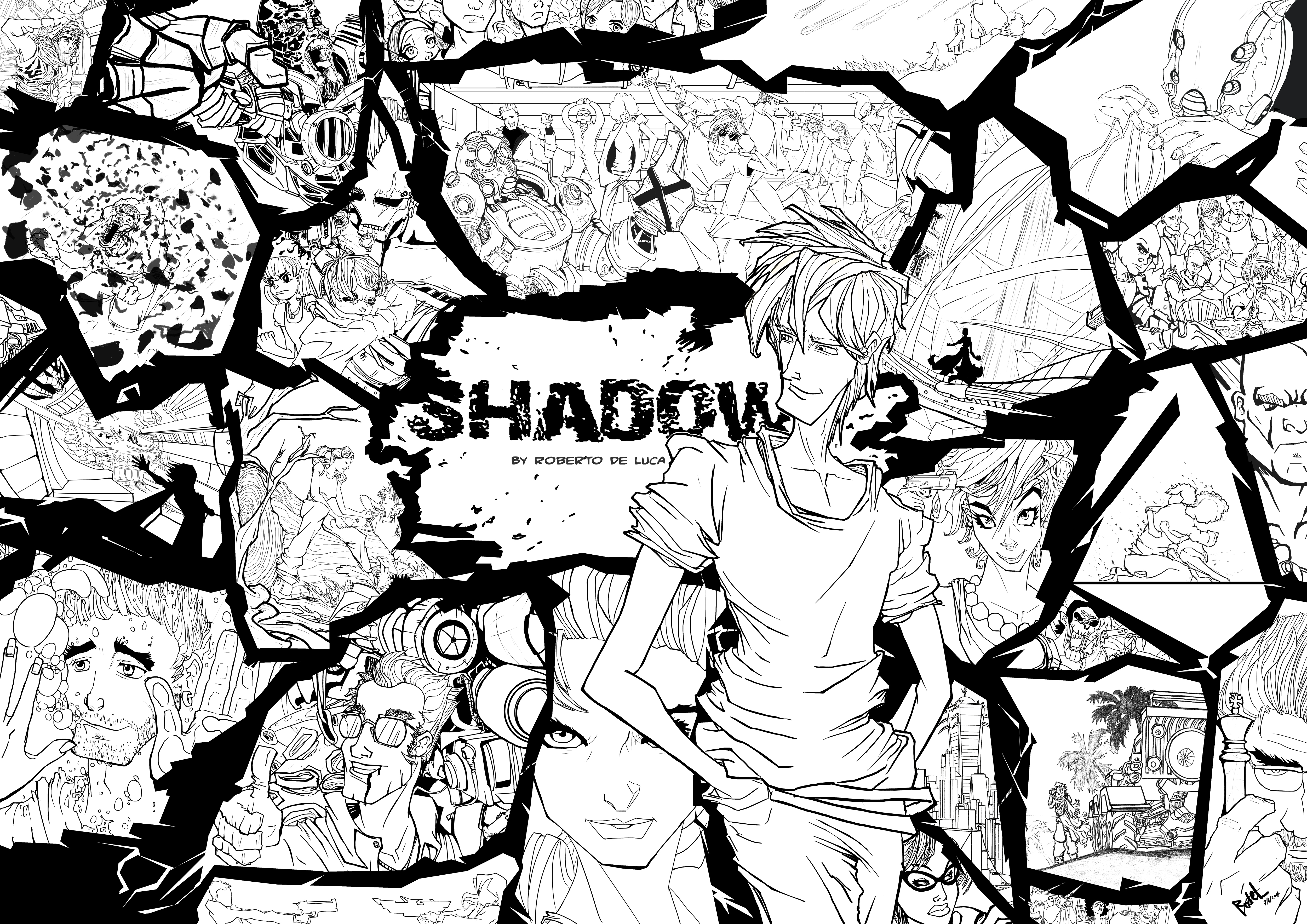 SHADOW poster 07/04/17 by RodeL