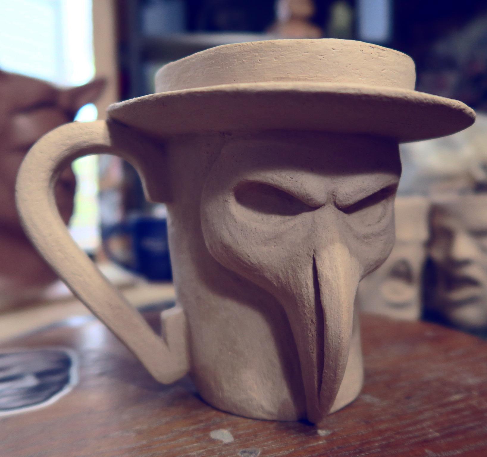 Plague Doctor Mug