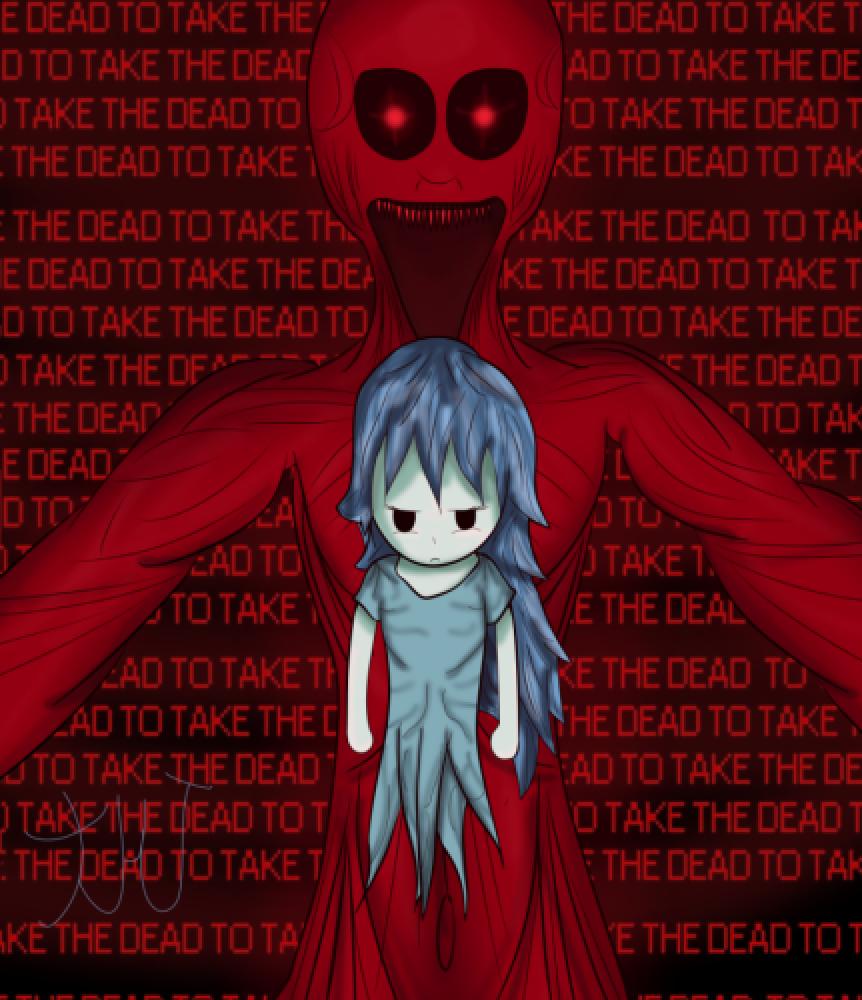 """To Take The Dead..."" Spooky's House Of Jumpscares Fan Art"