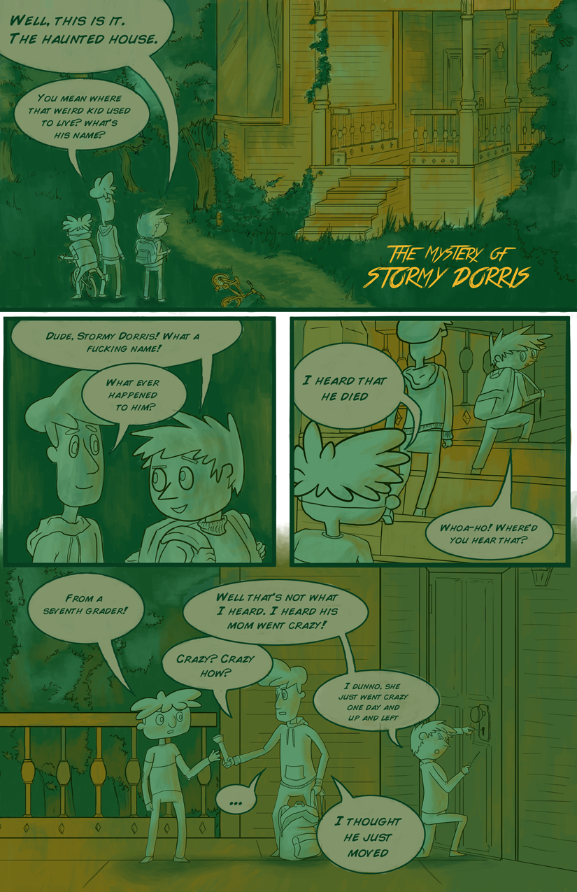 The Mystery of Stormy Dorris - page 1