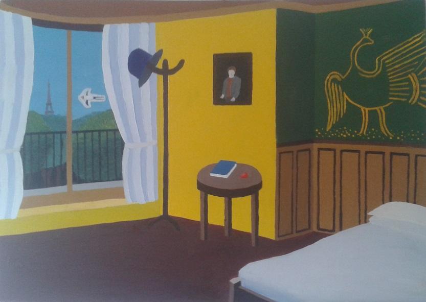 Oscar Wilde Suite (À La Dexter Dalwood)