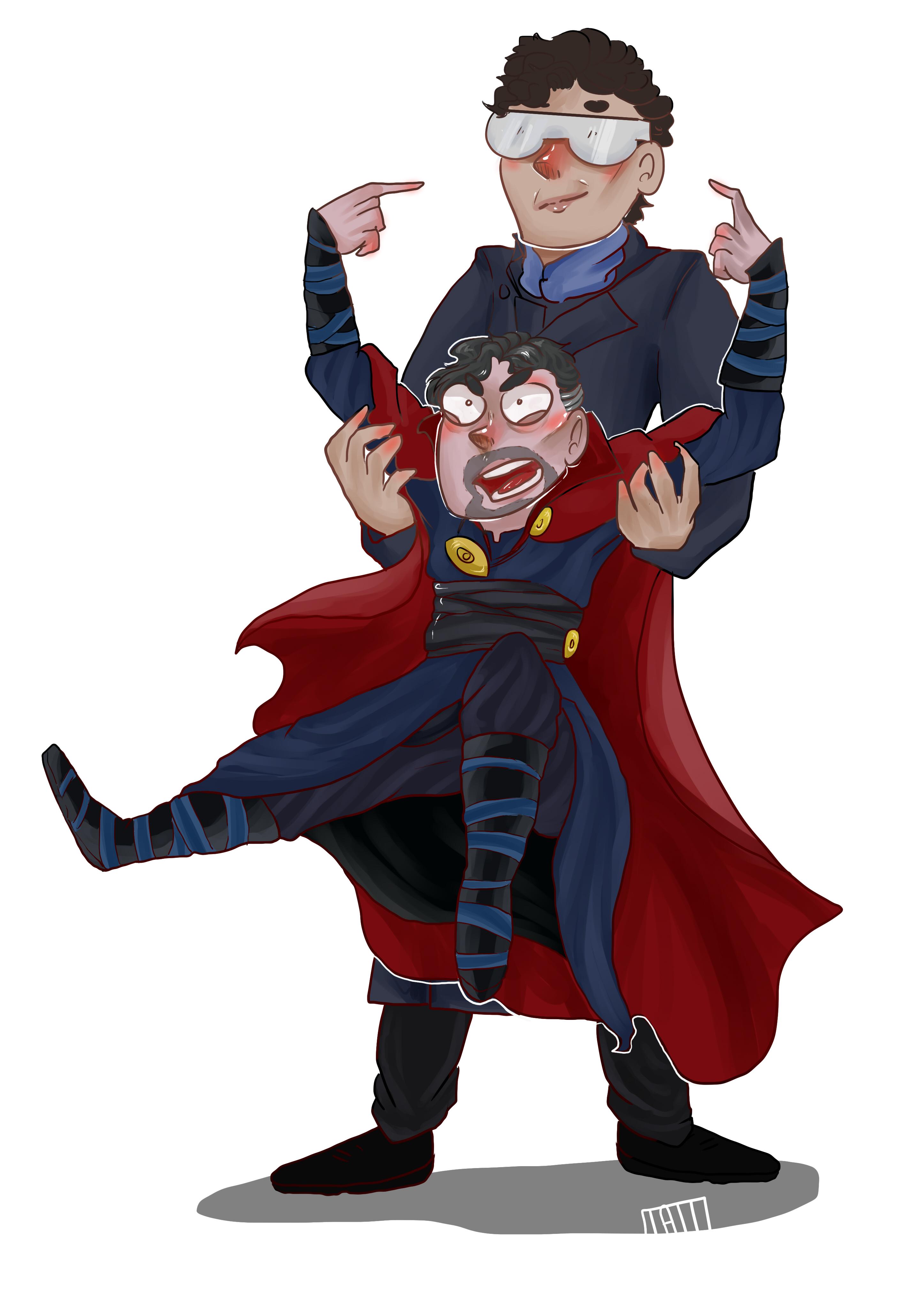 Dr Strange and Sherlock
