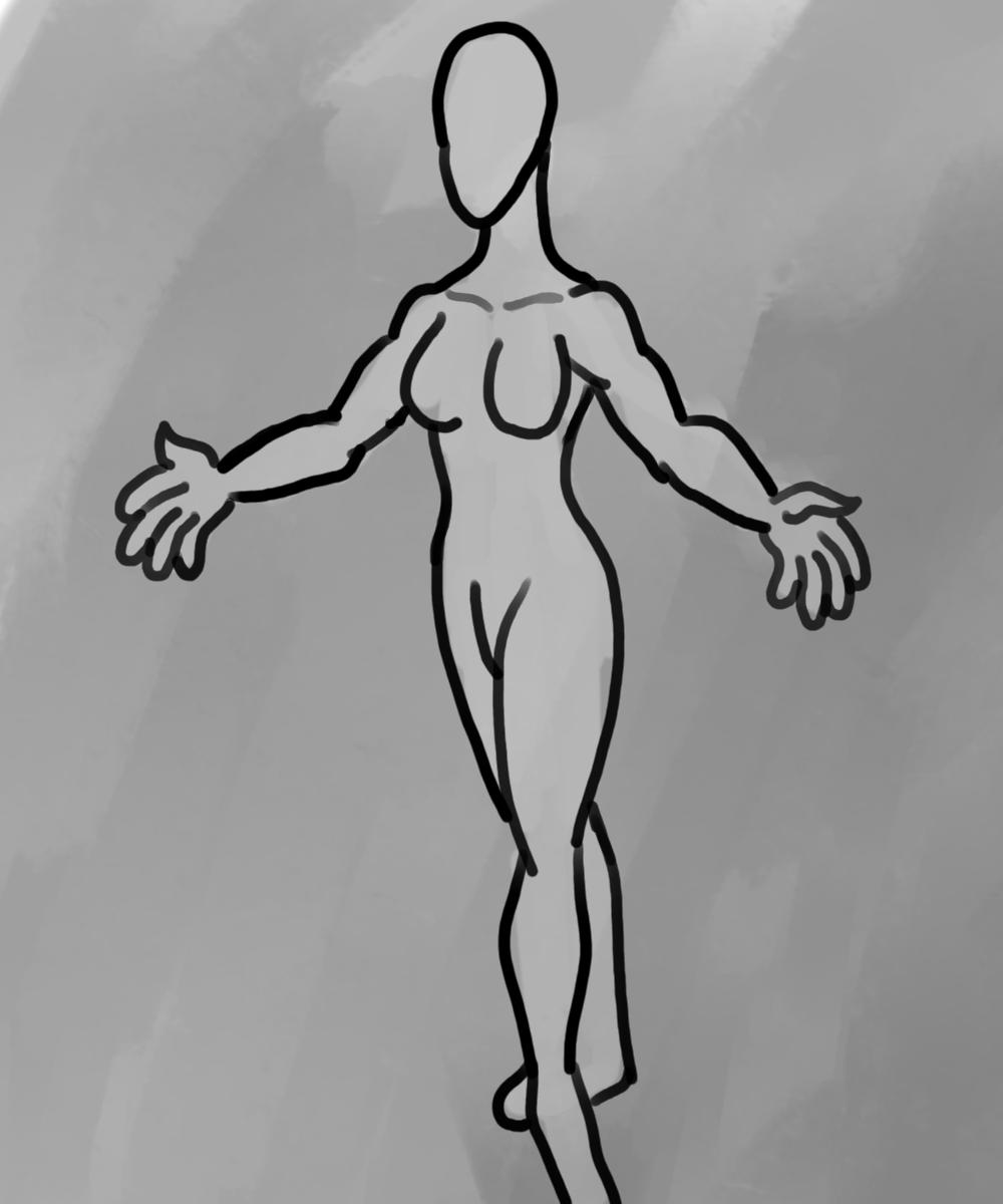A Blank Female