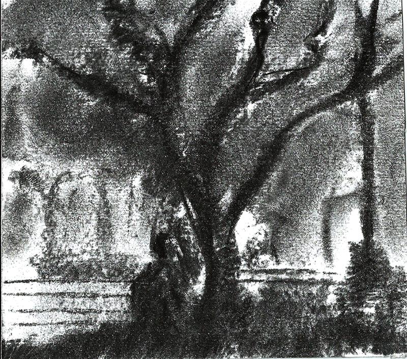Park at Night II