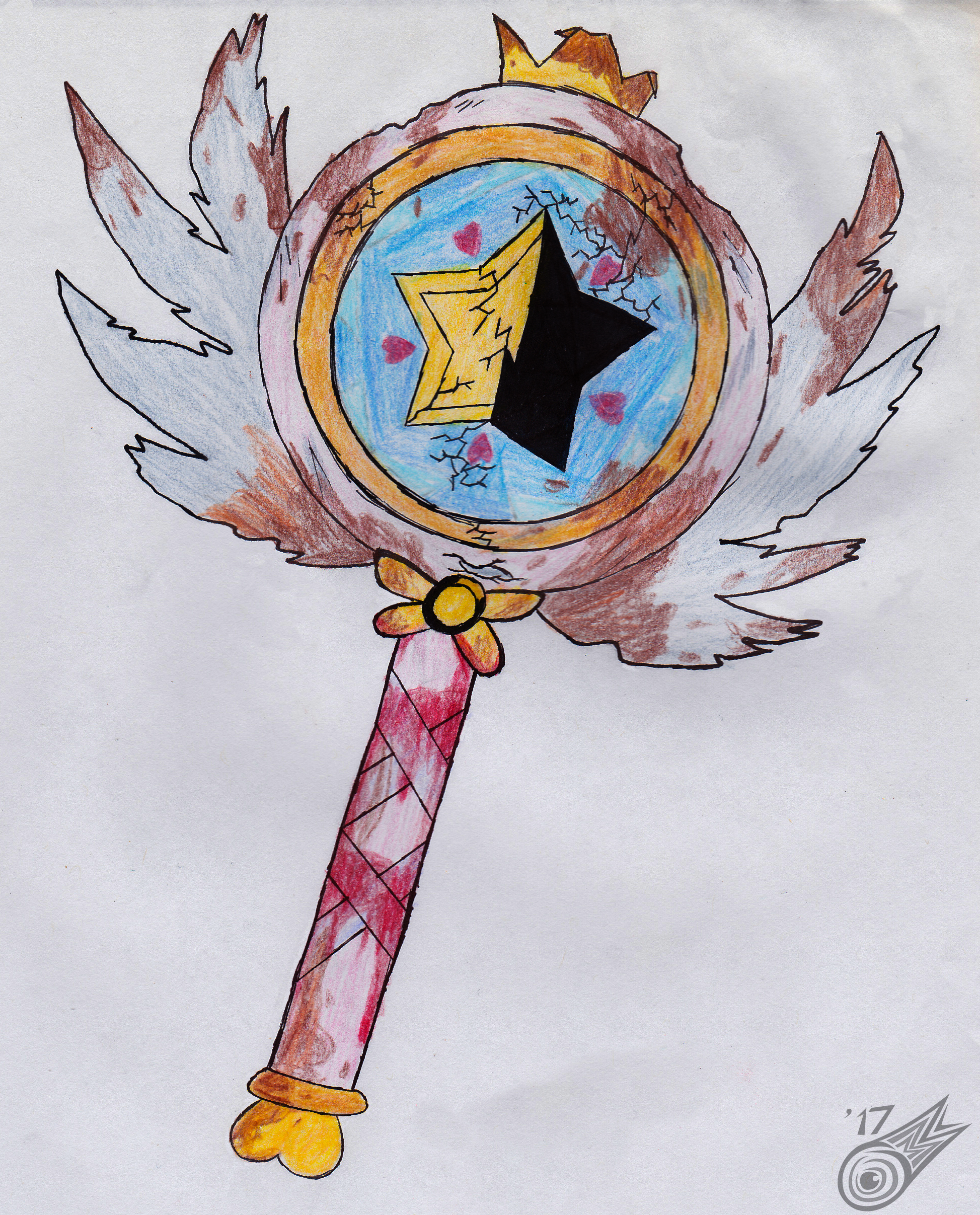 Star's even-more-damaged wand.