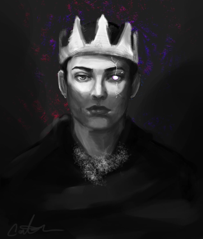 White eyed King