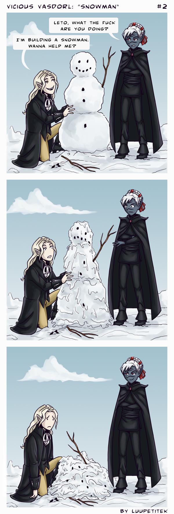 VV comic: Snowman
