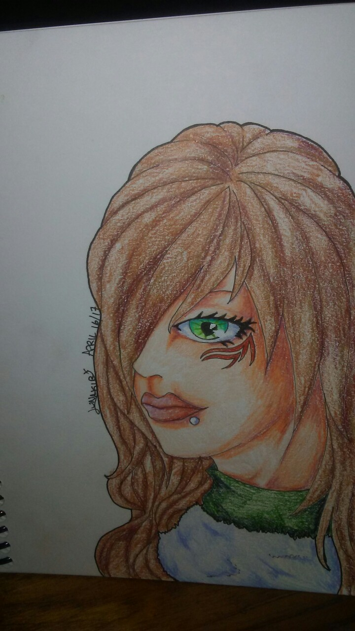 Alluring Green Eye