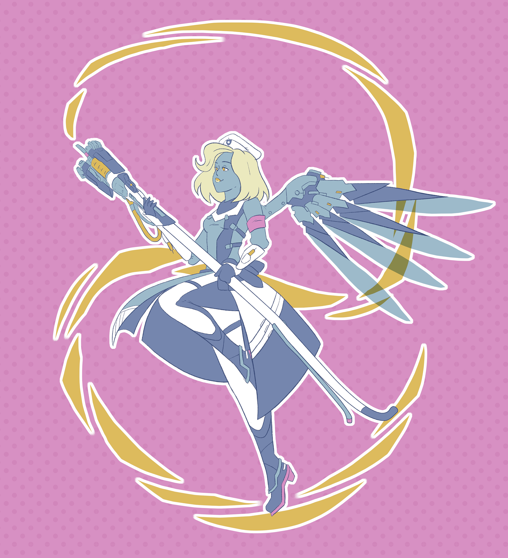 Overwatch Color Palette Challenge