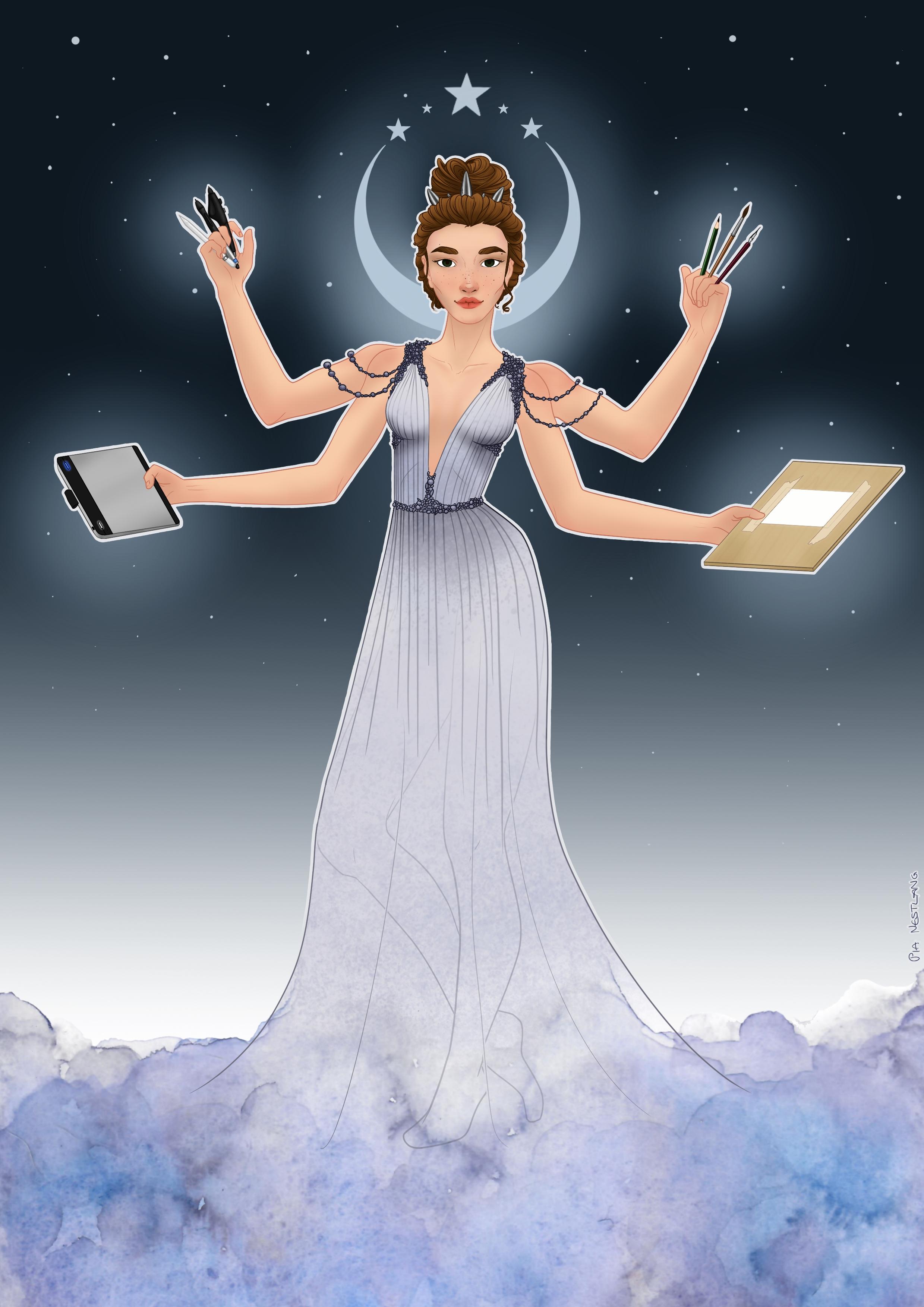 Goddess of Art