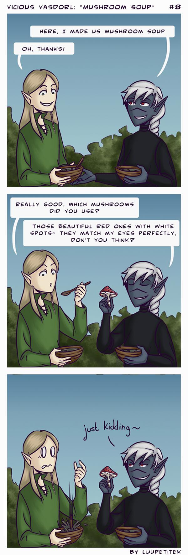 VV comic: Mushroom Soup