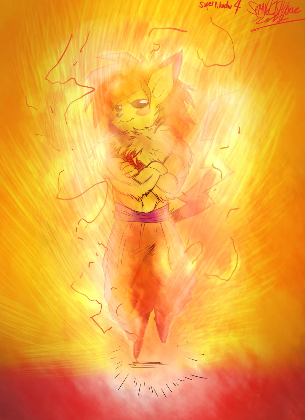 SSJ4 Pikachu 26 03 2014