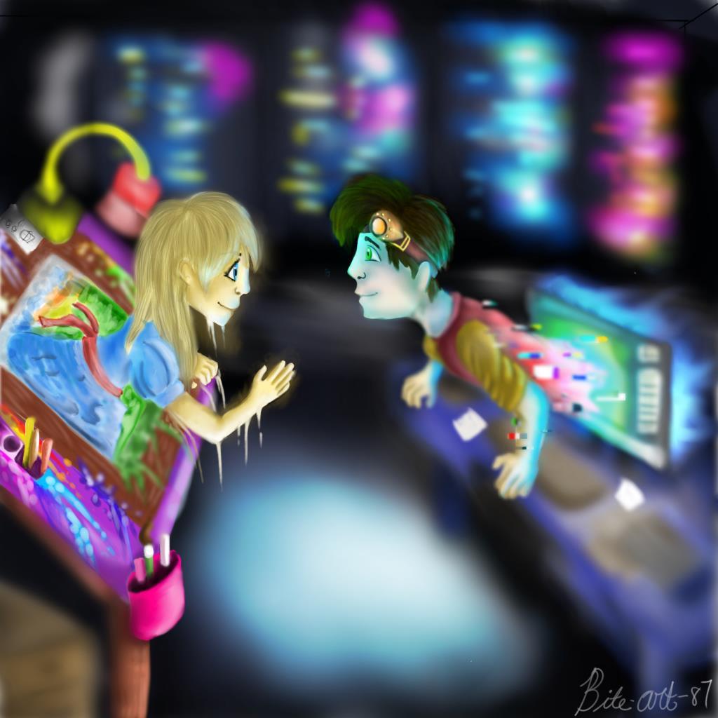 Meeting digital and traditional (tradigital contest)