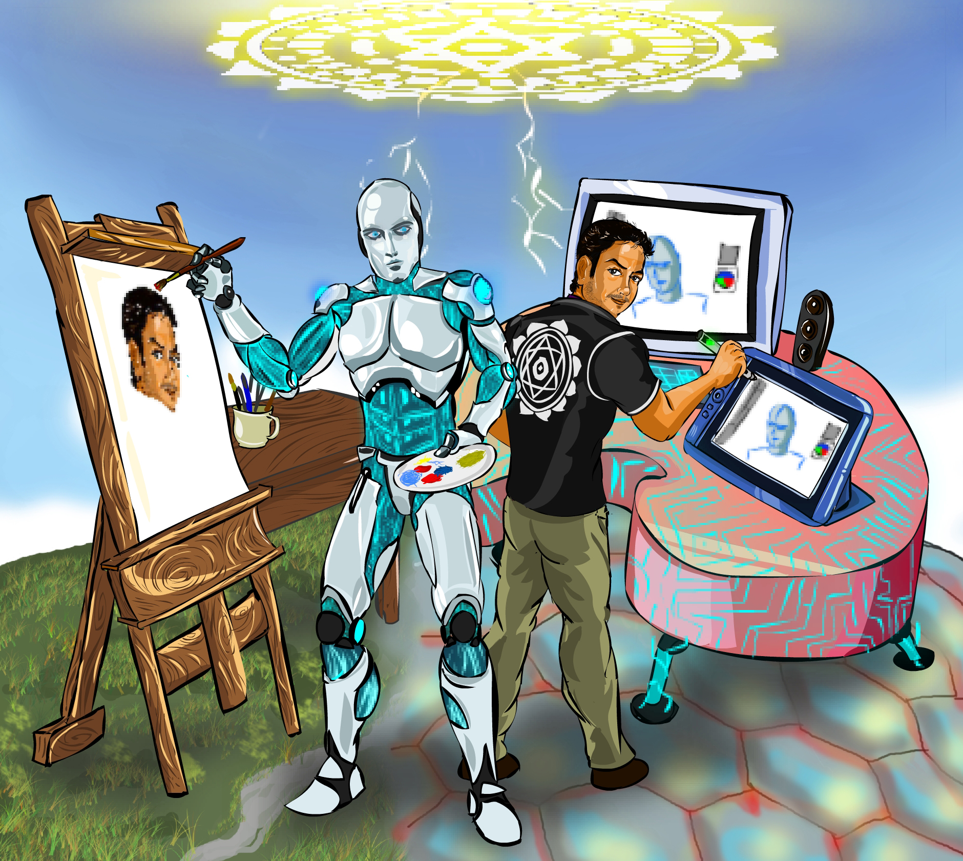 Endhiran vs Manthiran( Artificial Intelligence Vs Magical Intelligence) for TraDigital