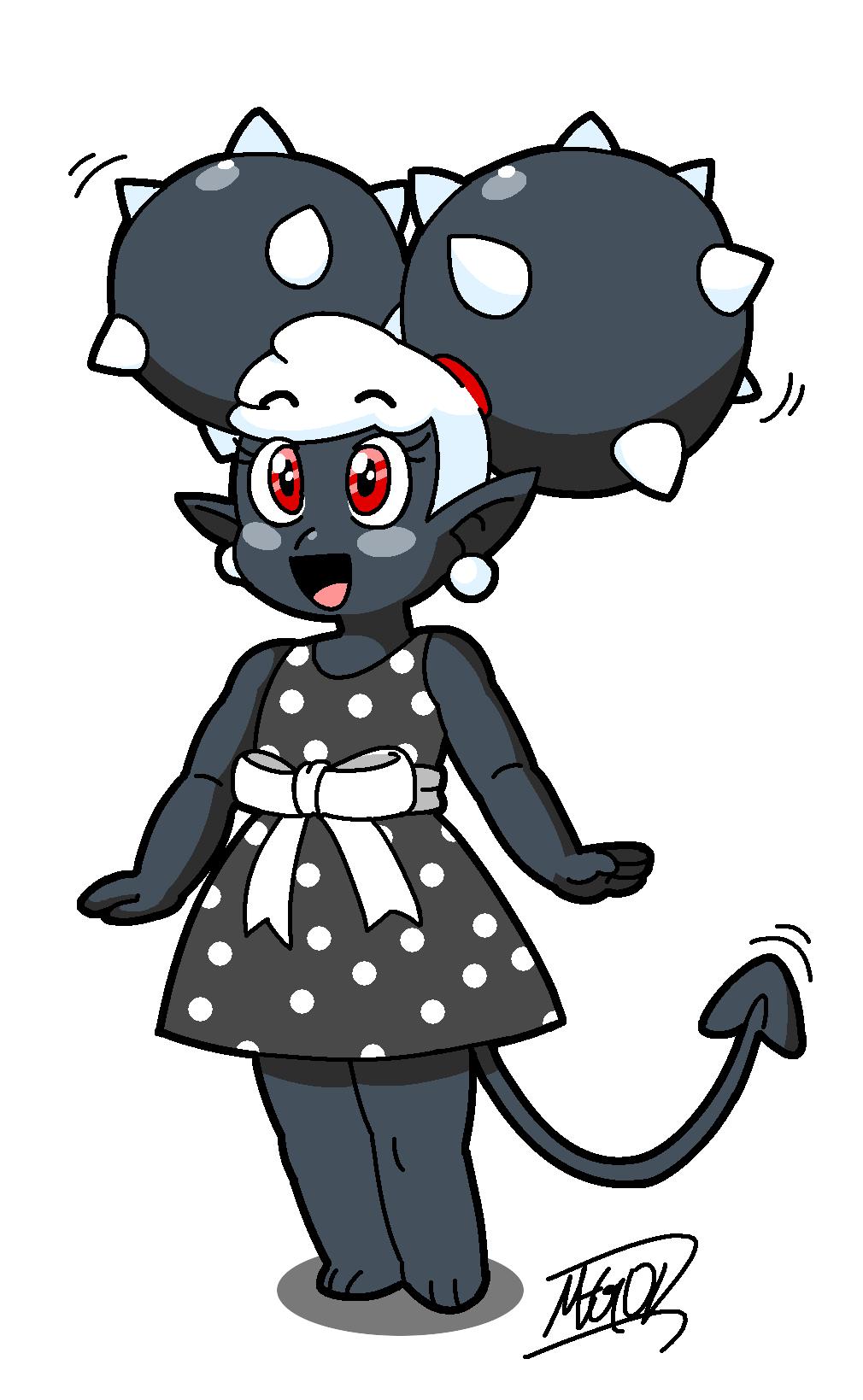 Spiky Demon Girl