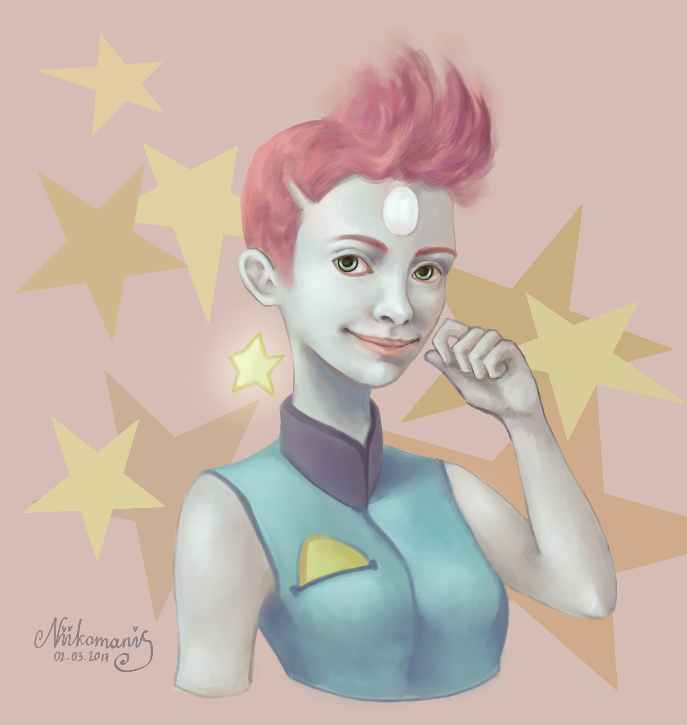 Pearl from Steven Universe (Old Design)