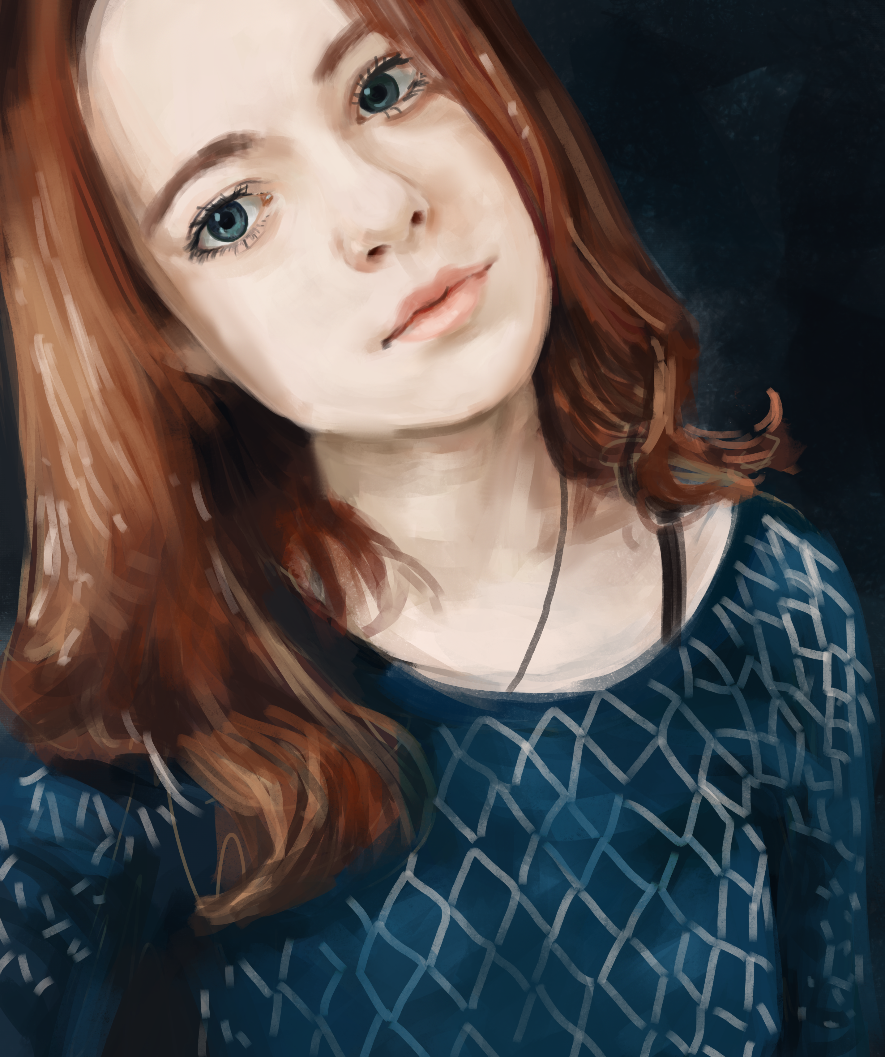 Portrait of a girl