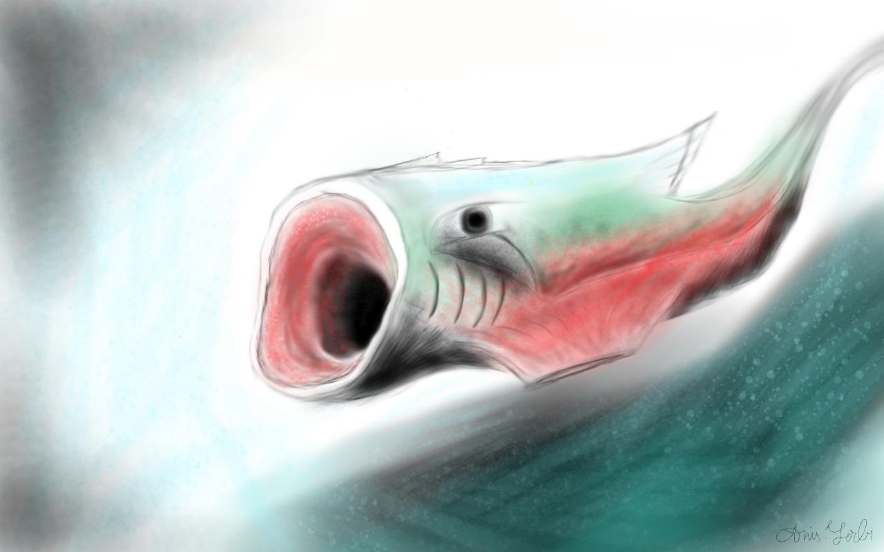 The weird fish