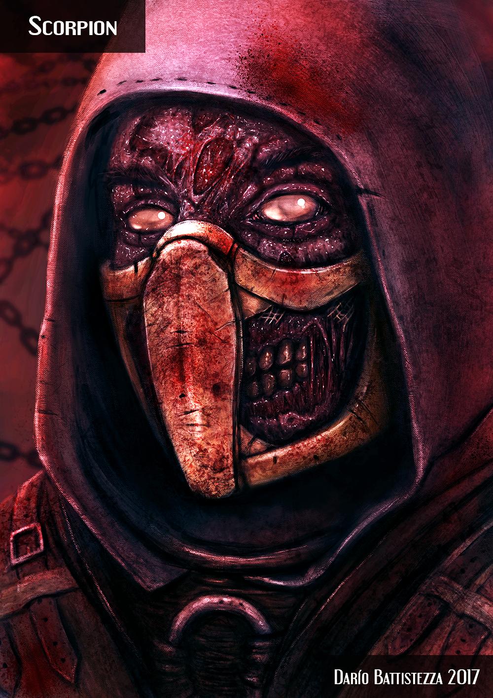 Scorpion Zombie MOD - Mortal Kombat X