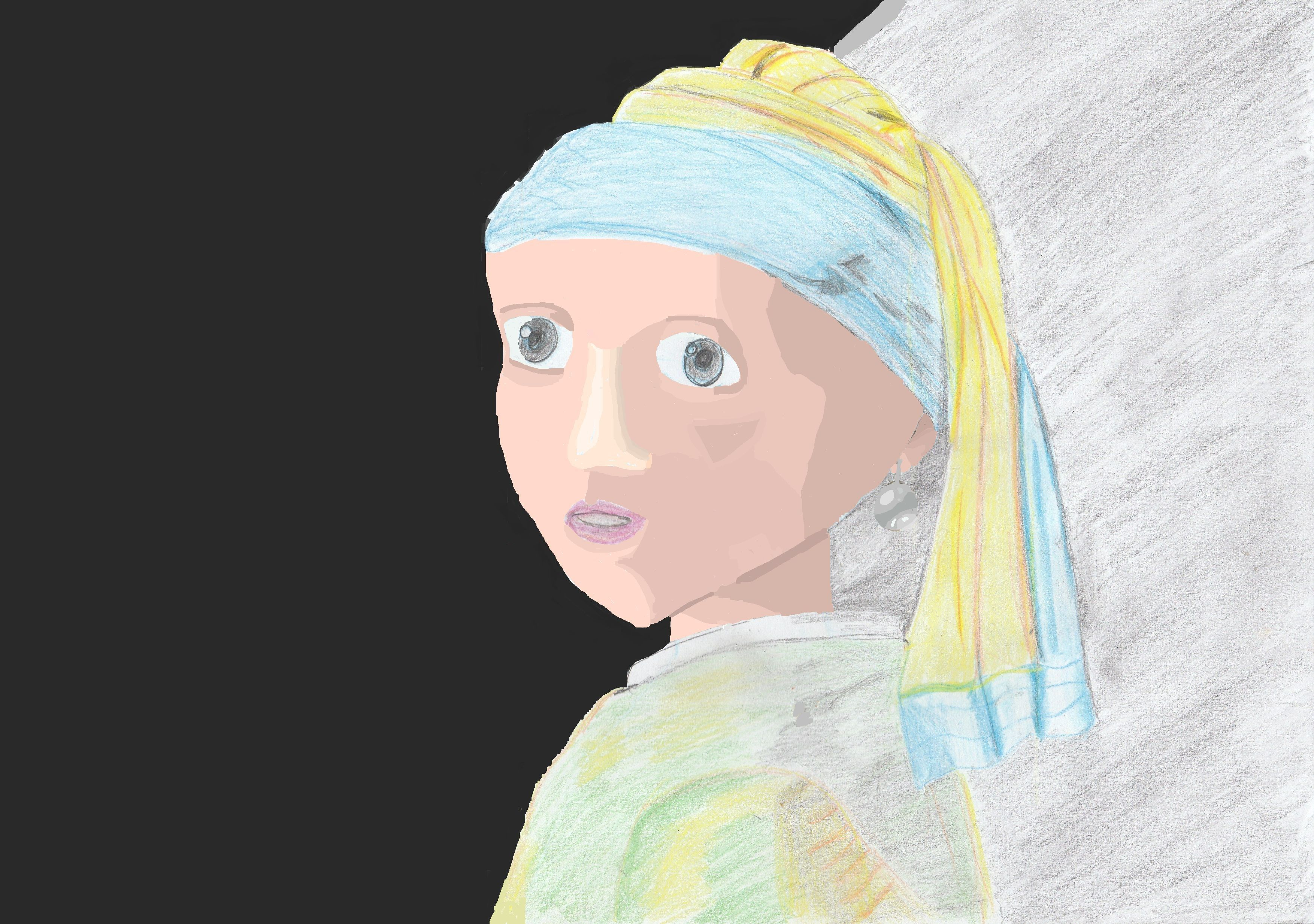 Rework the Girl with the pearl earring