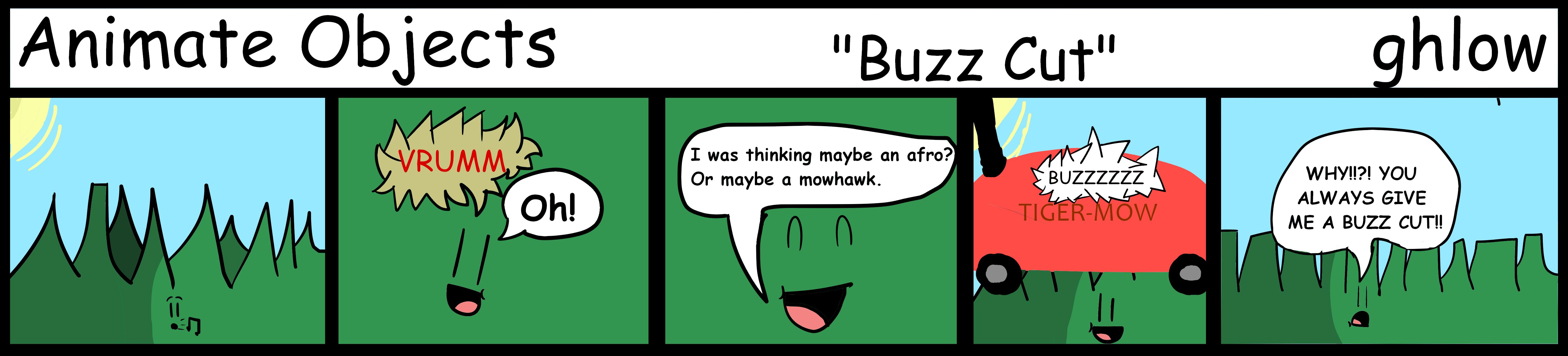 Animate Objects - Buzz Cut