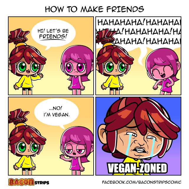 Bacon Strips - How to make friends
