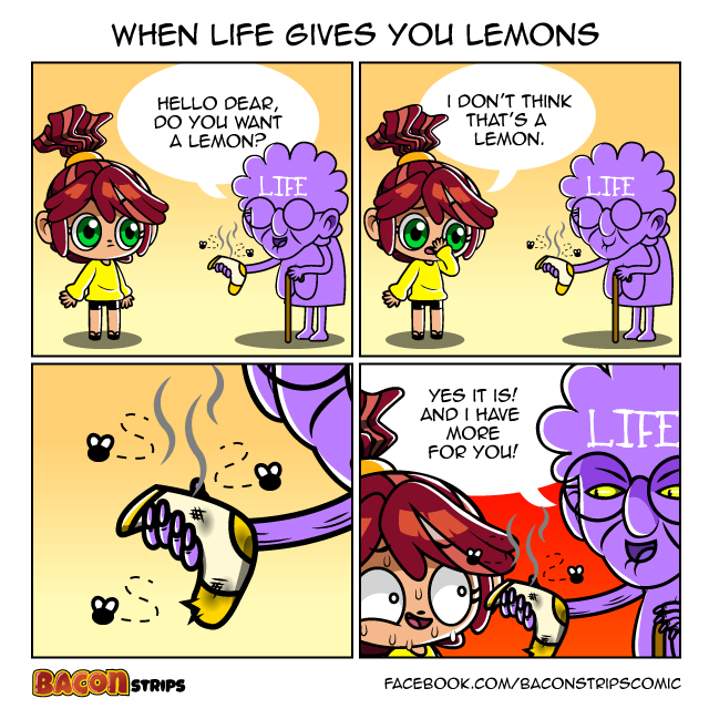 Bacon Strips - When life gives you lemons