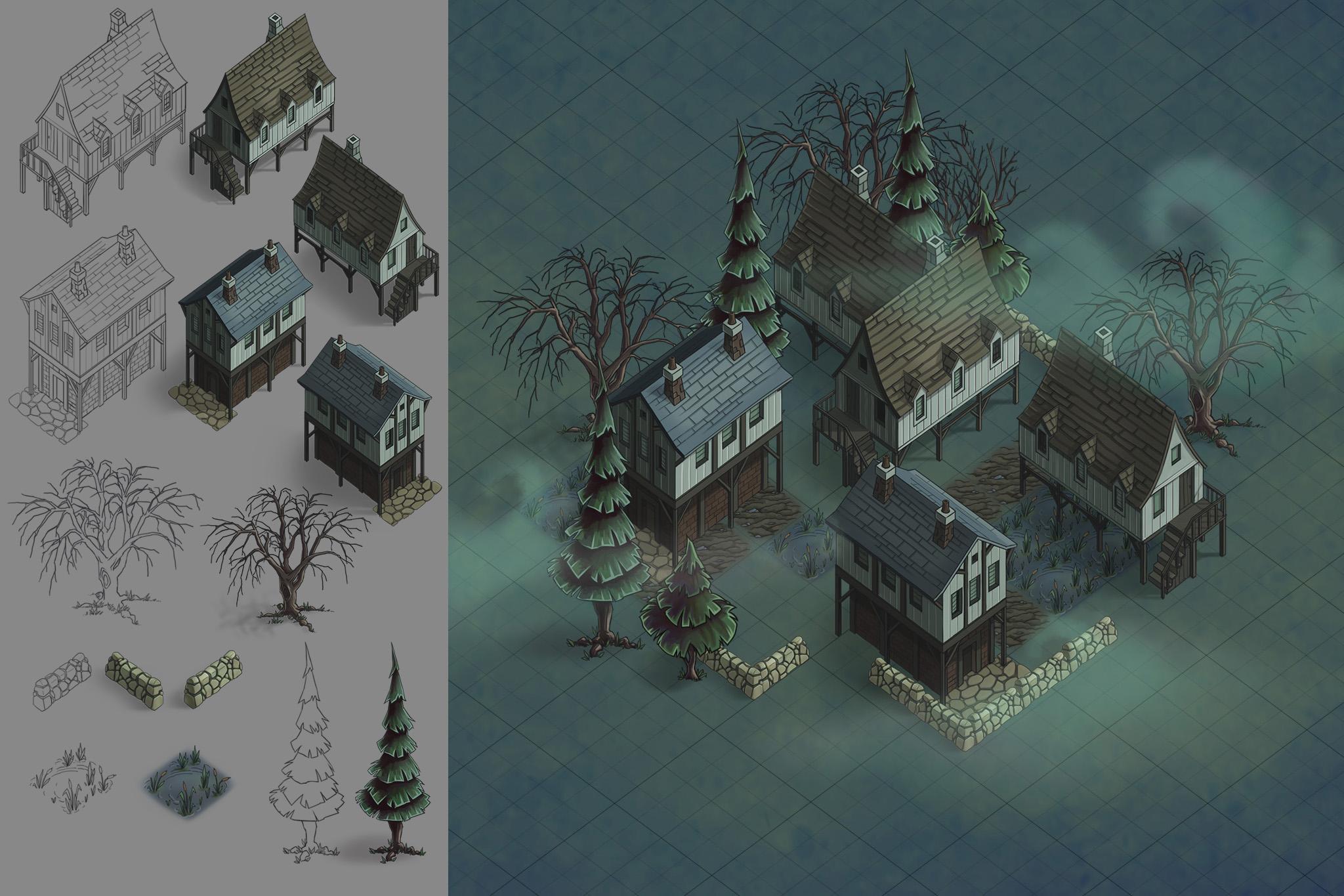 Spooky Town 03