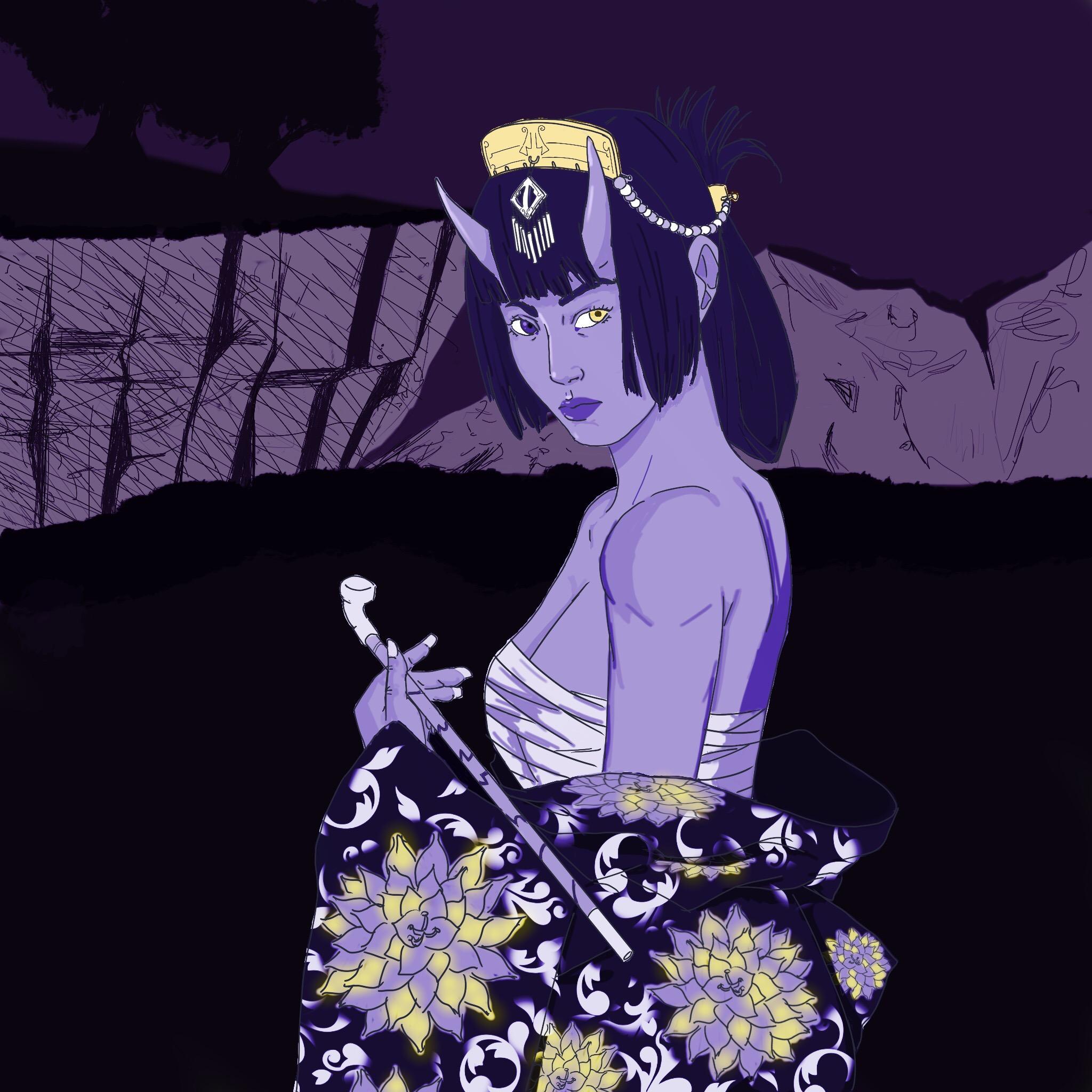 Purple Oni