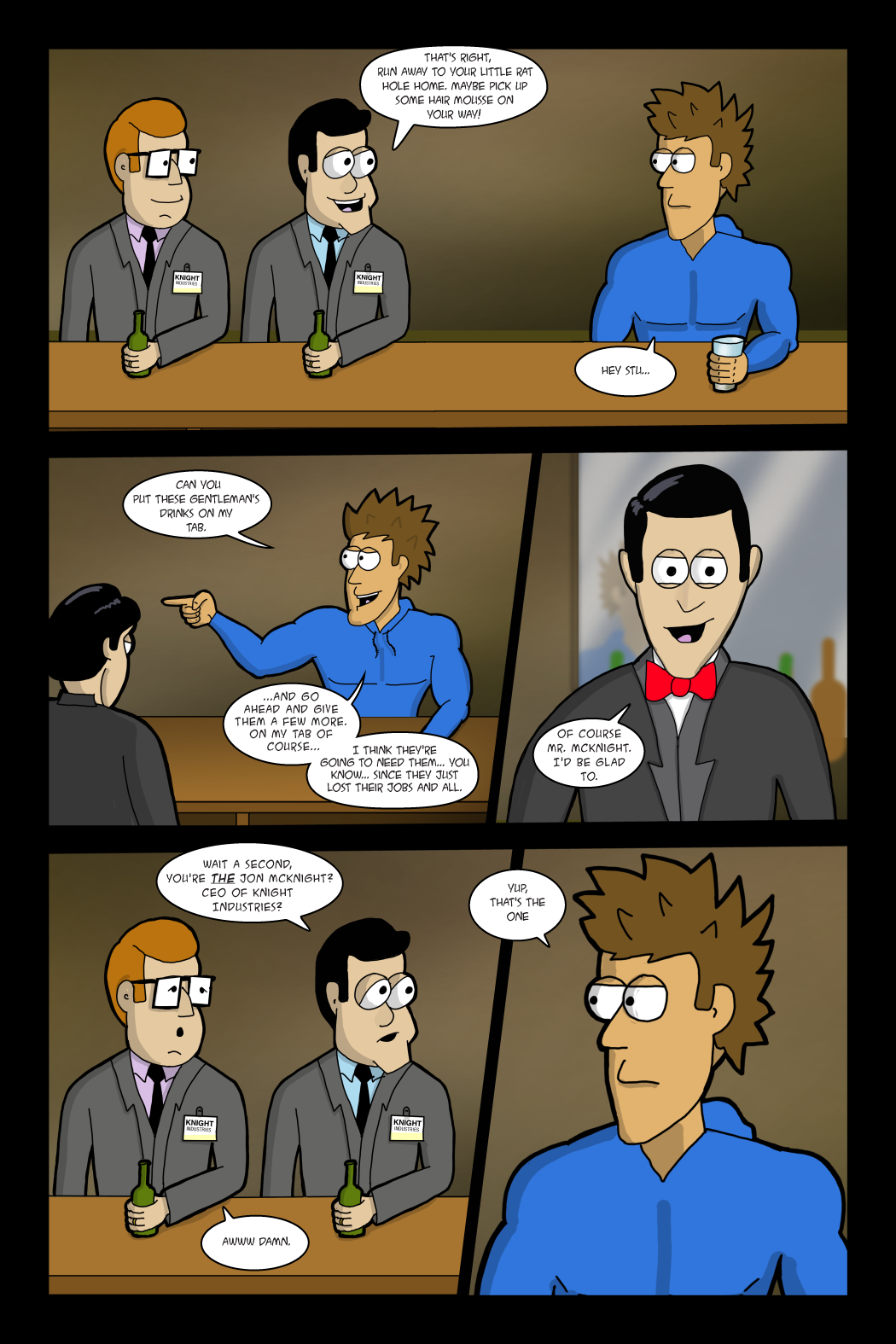 Adventures with Capt'n Heroic: In the Beginning - page 6