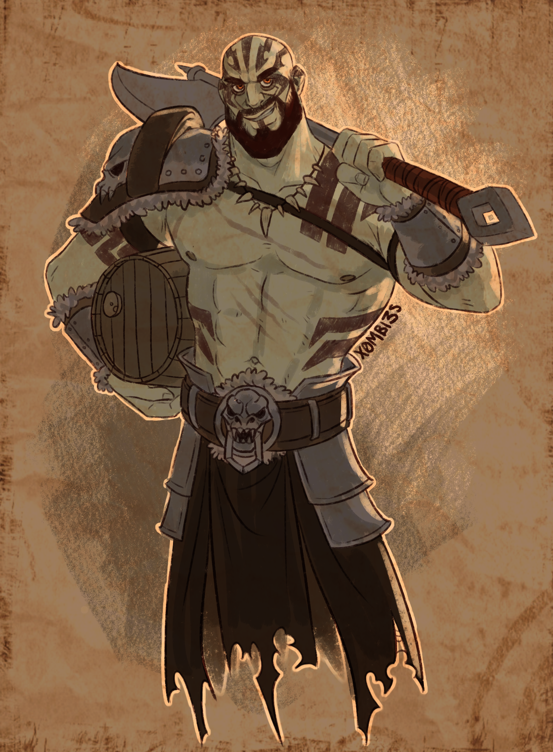 Critical Role - Grog Strongjaw