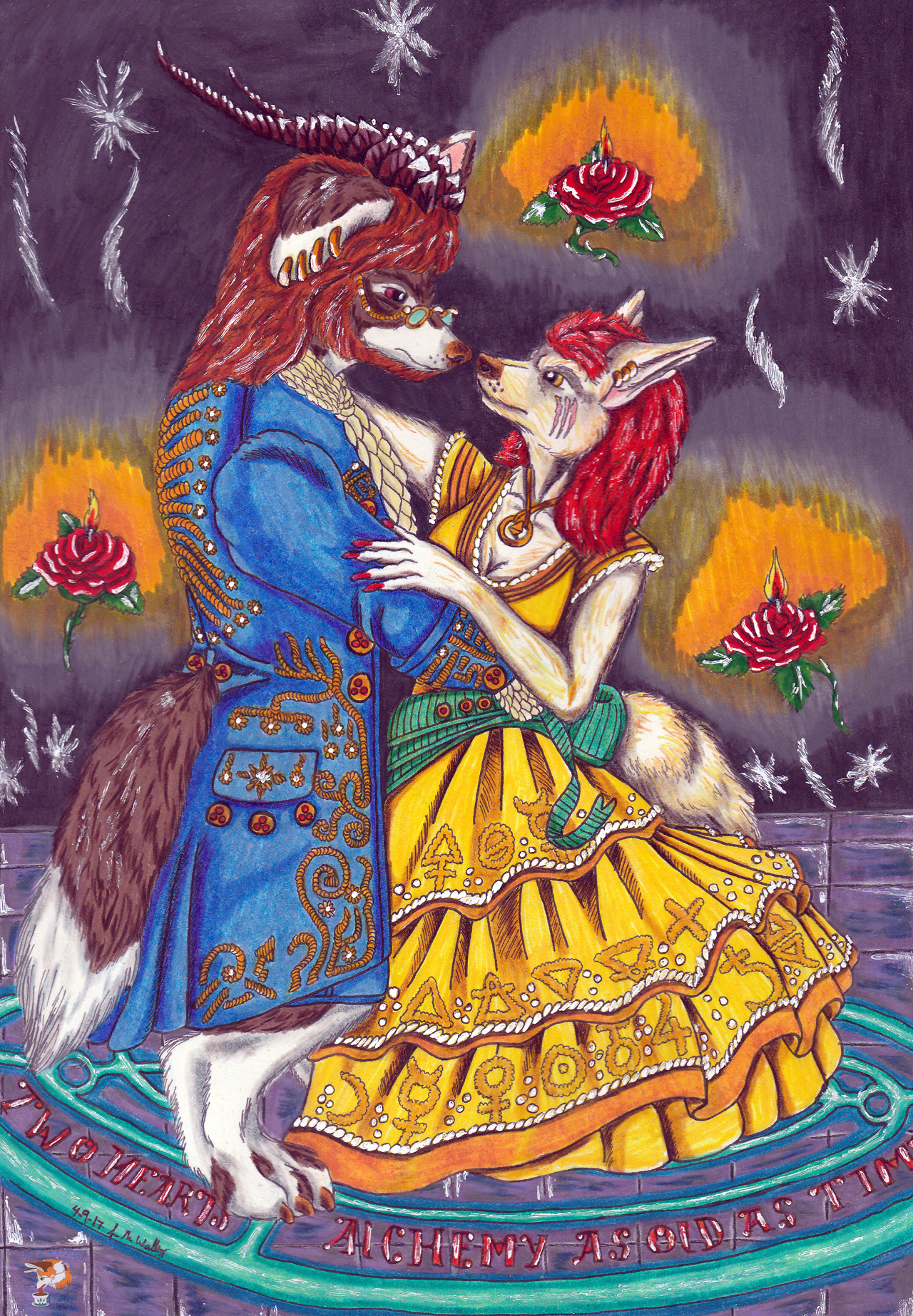 Alchemy As Old As Time - Beauty & The Beast Inspired
