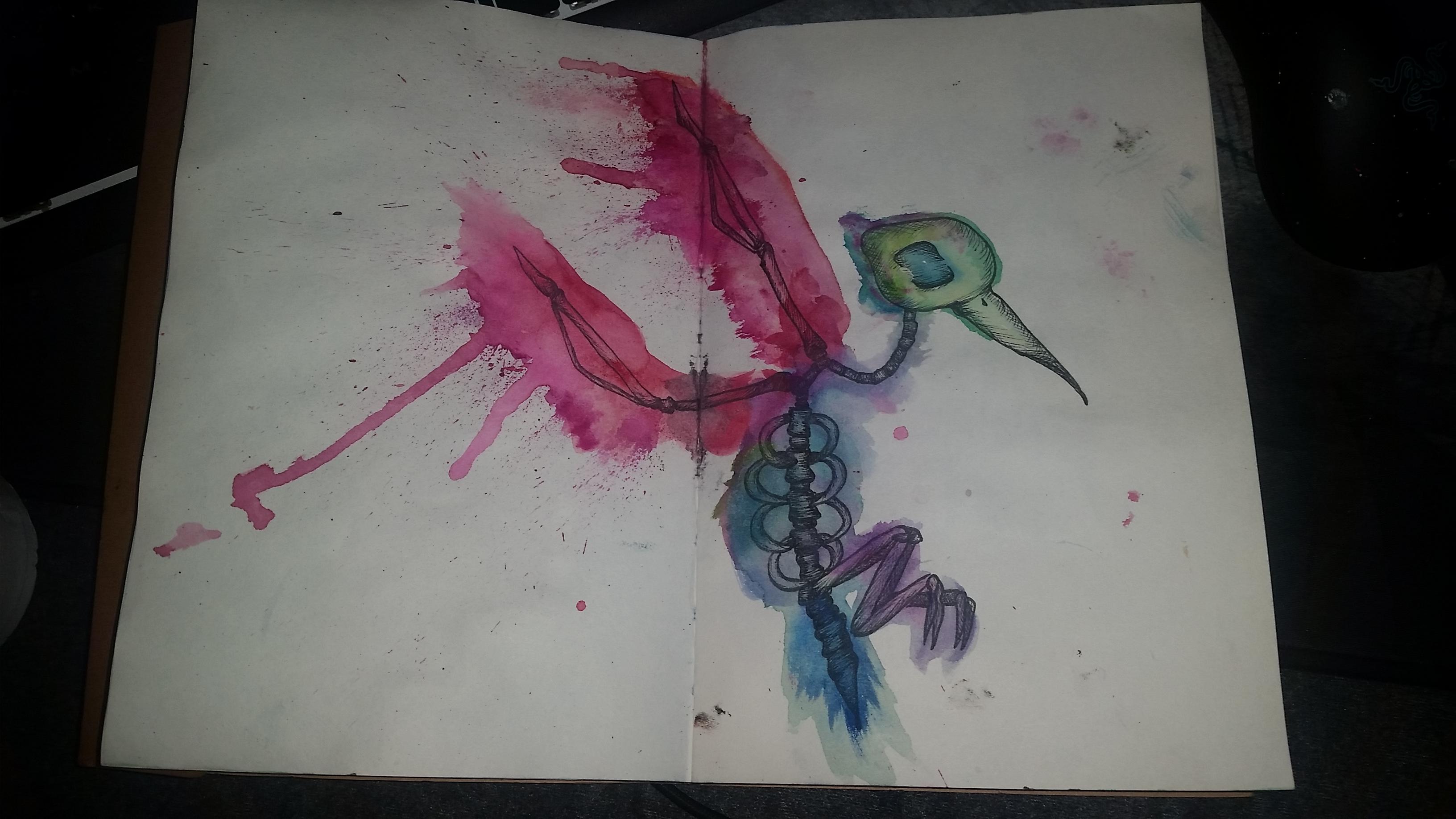 Exoskeleton - bird