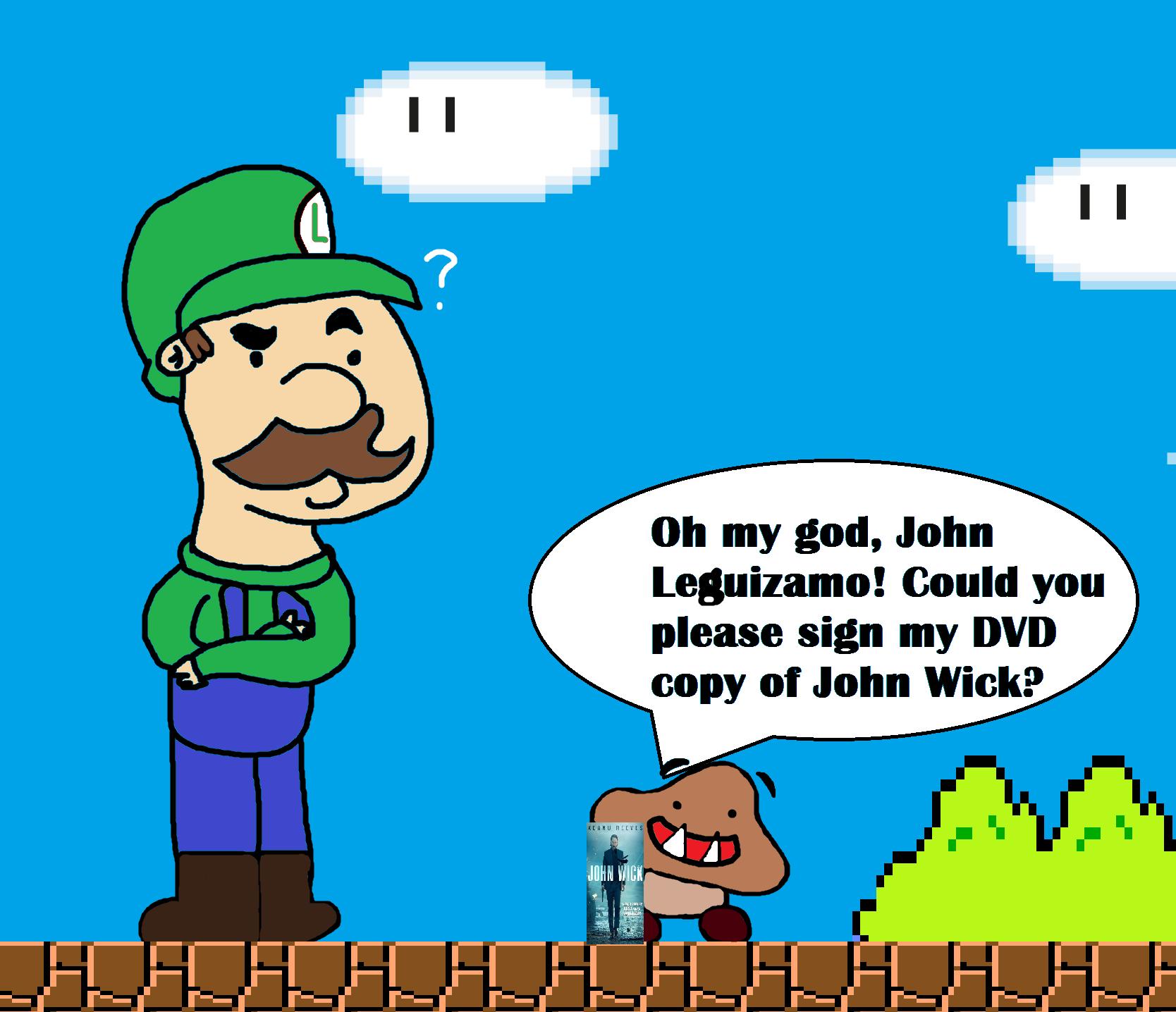 Shitty Mario Drawing