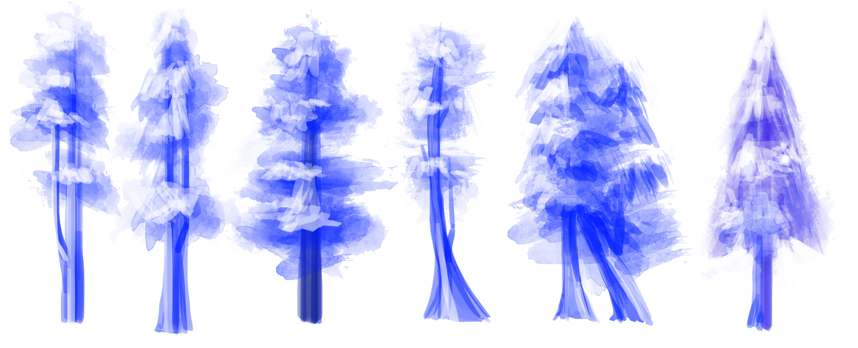 Tree thumbnails
